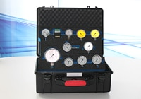 Individually designed tool case for manometer