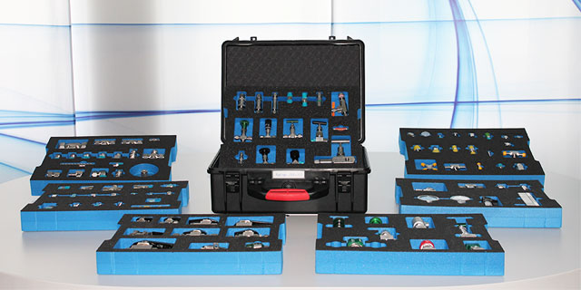 Cases and tools from Swagelok Hamburg